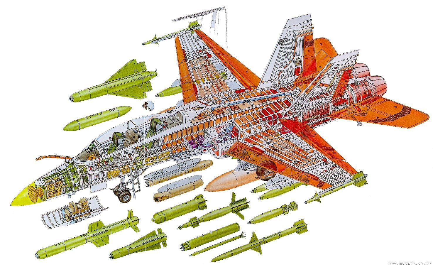Aircraft Drawings Cutaways And Blueprints On Pinterest Cutaway